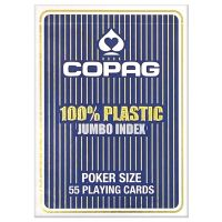 Poker Cards Copag Jumbo Face blue