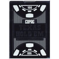 COPAG Texas Hold'em Poker Cards Peek Index blue