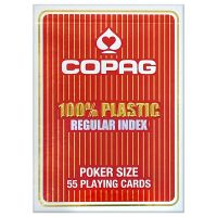 COPAG Regular Face Playing Cards Red