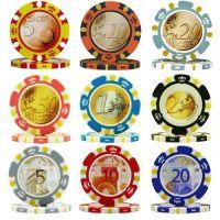 Euro Money Poker Chips