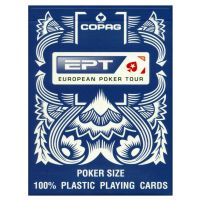 European Poker Tour Copag cards blue