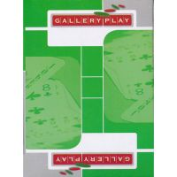 Gallery Play playing cards green