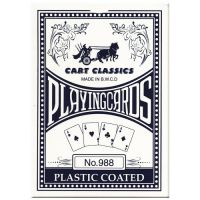 Cart classics playing cards No. 988 blue