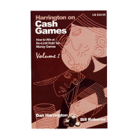 Harrington on Cash Games Volume I
