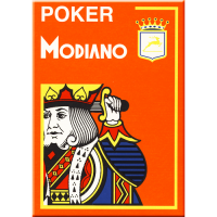 Poker Modiano Cards Orange