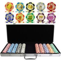 Poker Set Euro Design 500 Chips