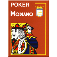 Poker Modiano Cards Brown