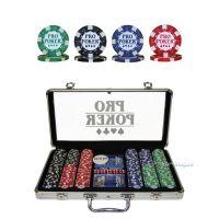 Pro Poker 300 Chips Poker Game Set