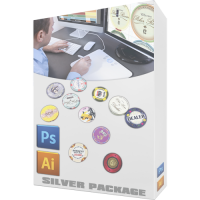 Custom Chips Design Silver Package