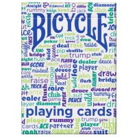 Table Talk Bicycle Playing Cards Blue