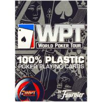 WPT kaarten Fournier rood