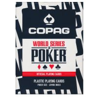 WSOP Plastic Poker Deck COPAG Black