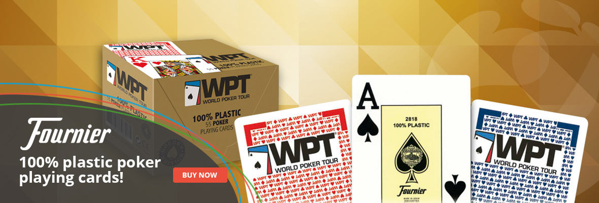 Fournier WPT Plastic Playing Cards